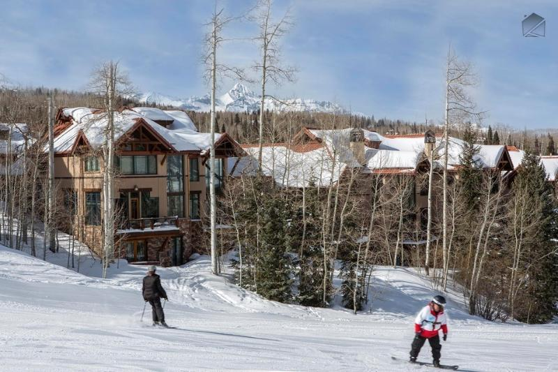 When you're cruising down Meadows ski run, ride right up to the front door of the Pine Meadows complex.