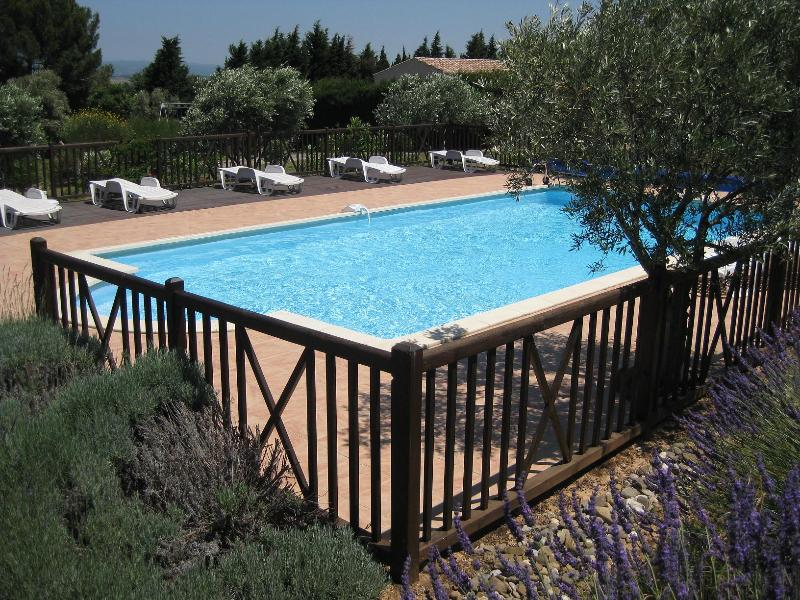 Large Heated Pool with great views