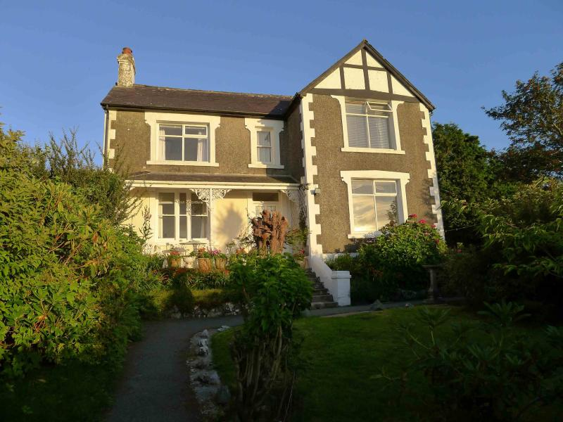 House and enclosed private garden  from gate entrance detached peacefull location
