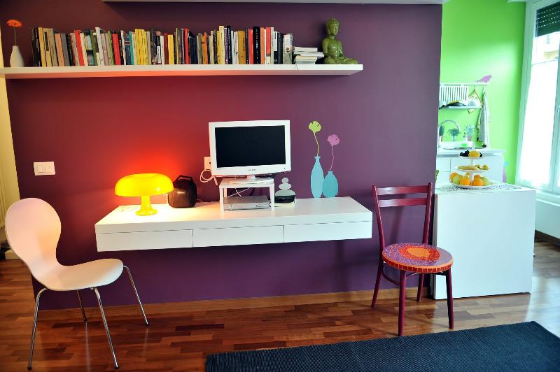 bookshelter and TV