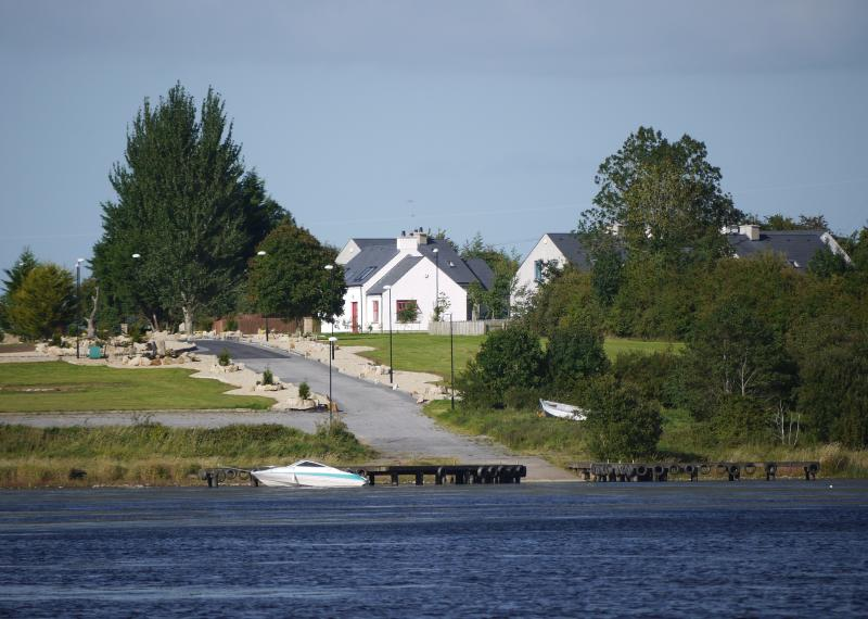 View Of The Cottage from the Lough