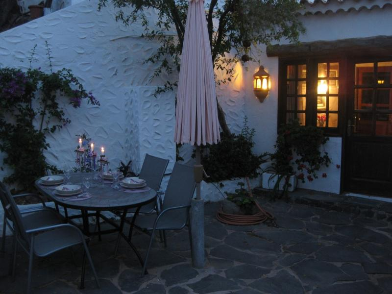 Terrace with diningplace