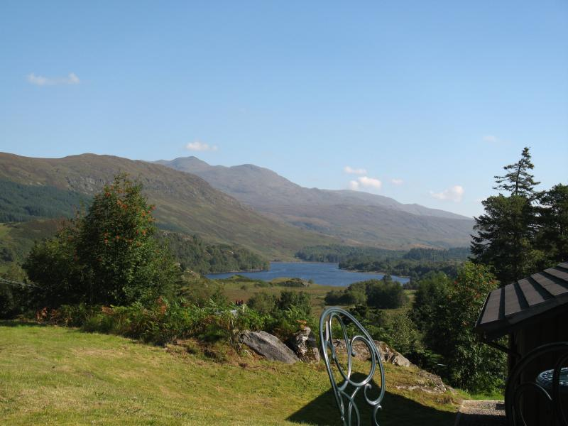 View of Loch Iuibhair from Gamekeeper private patio
