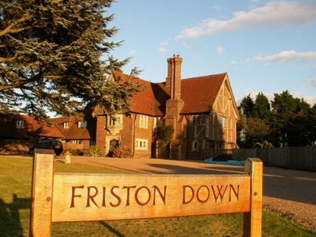 Friston Down Cottage is an annexe to the larger house at Friston Down