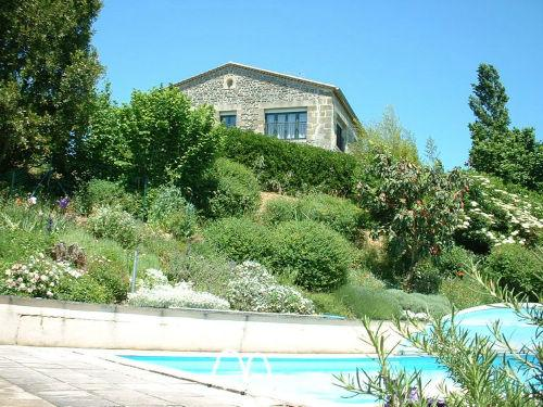 Maison Haute as seen from the pool