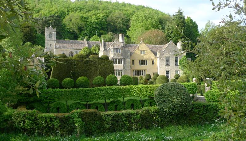 Owlpen Manor is an architectural gem of the Cotswolds