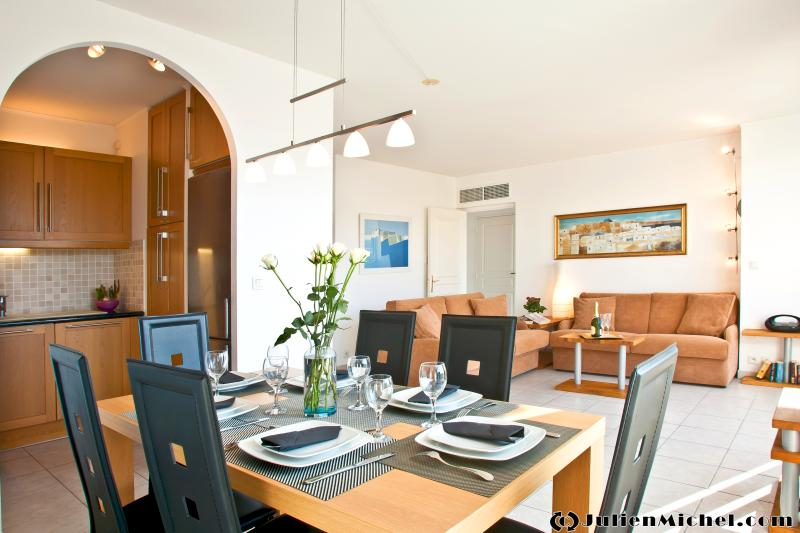 dining + kitchen + living