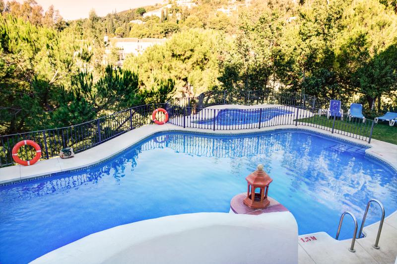 The swimming pools are set in attractive gardens & San Pedro Beach is only 2kms away