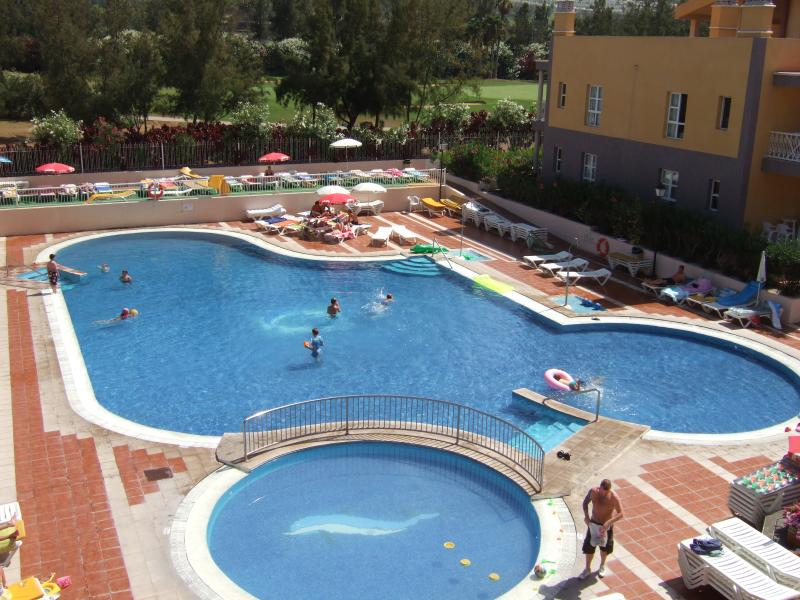 View of complex swimming pool