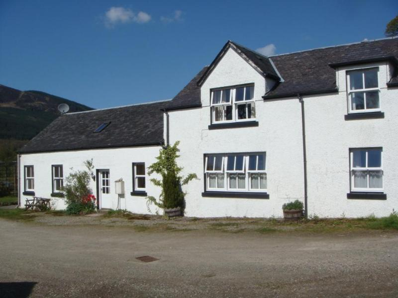 The Steadings exterior of main house