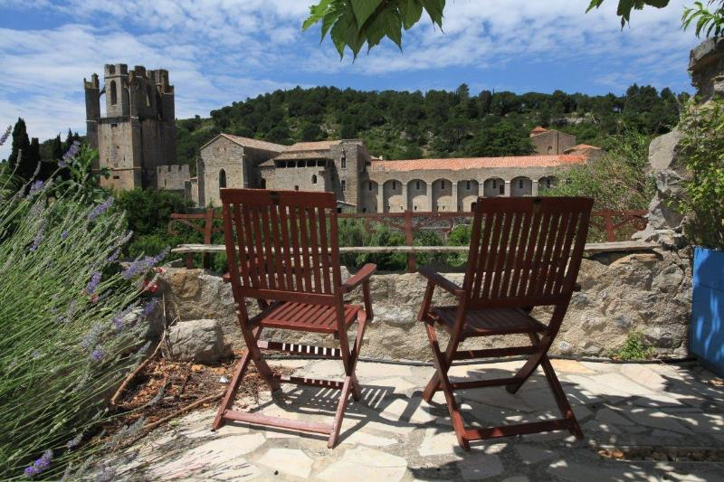 Superb vue on the abbaye