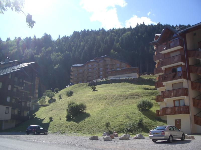 Residence L'Ourson from the ski lift