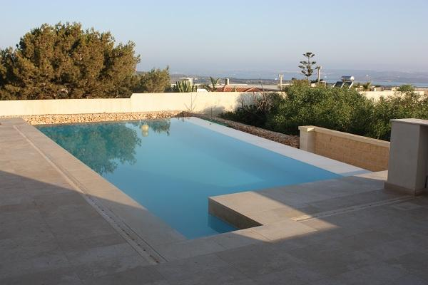 swimming pool for shared use with owner