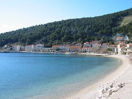 Trstenik village at the Peljesac peninsula