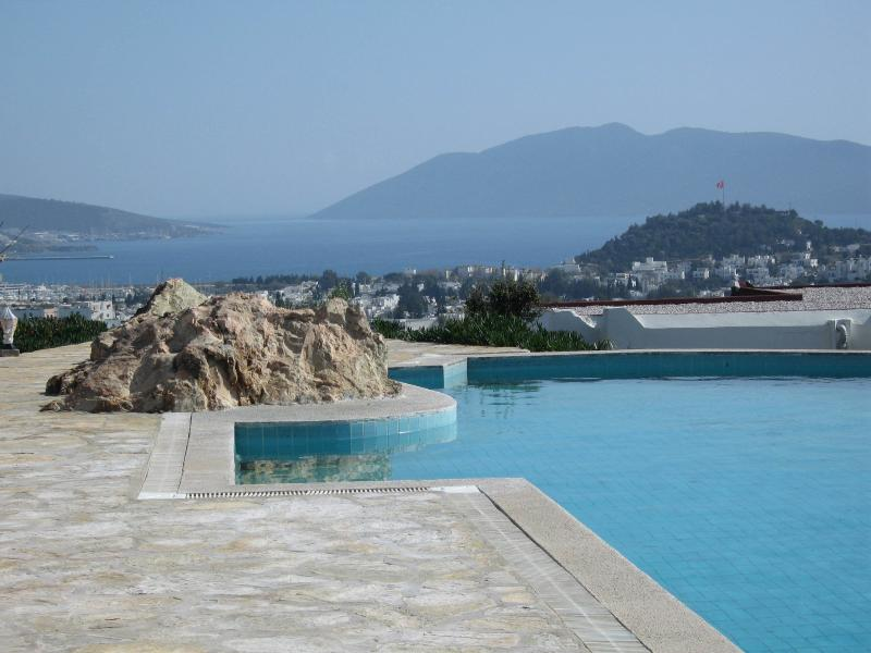 Gorgeous view on the city and the bay of Bodrum