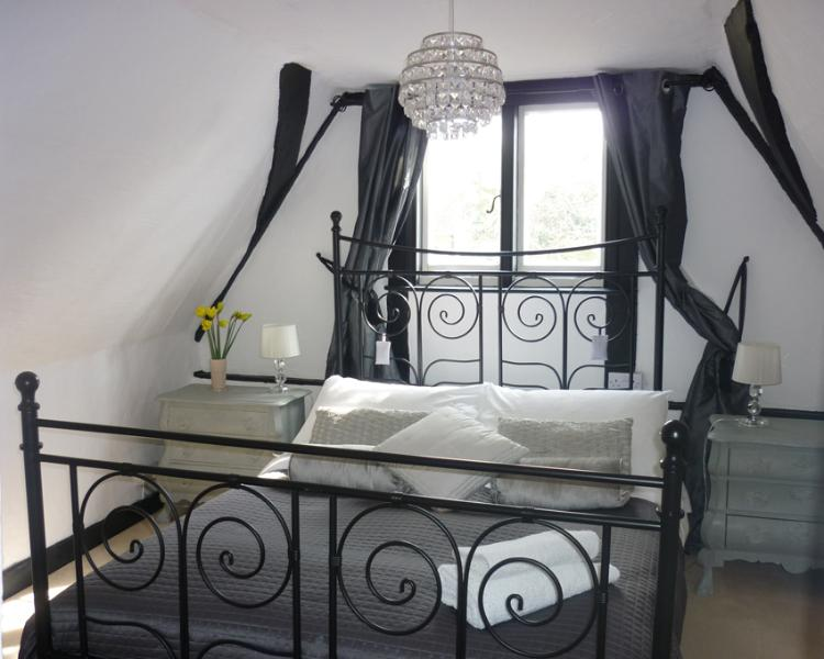 Have a great nights sleep in the master bedroom