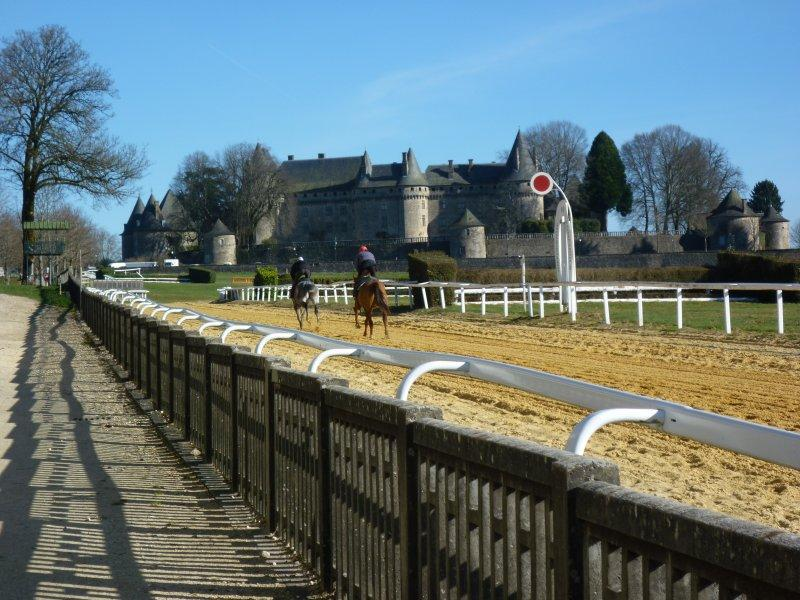 Pompadour chateaux and race course