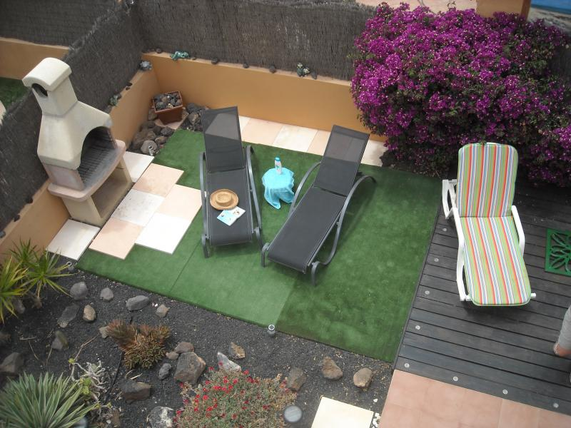 BBQ and Astro Turf Area