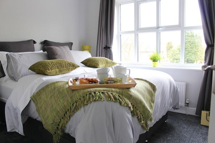 Relax and enjoy your morning cup of Yorkshire Tea whilst enjoying the lovely views of the paddock.