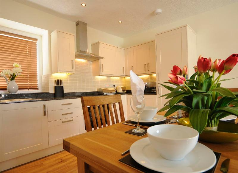 Spacious  and well fitted out kitchen