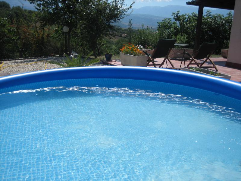 Relax in the plunge pool
