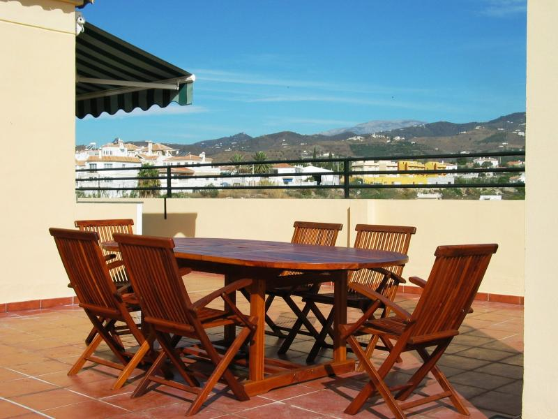 Roof Top Terrace - 50% showing here - the ideal place for Al-Fresco dining and relaxation