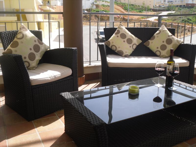 Relax on the South Facing Balcony