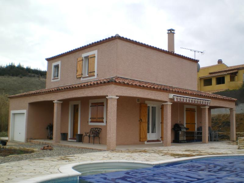 Front of House and Covered Terrace