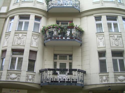 Outside view  The Balcony