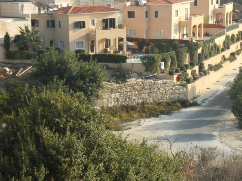 Villa Hunter. We have un-interupted views to the sea from our hill side.