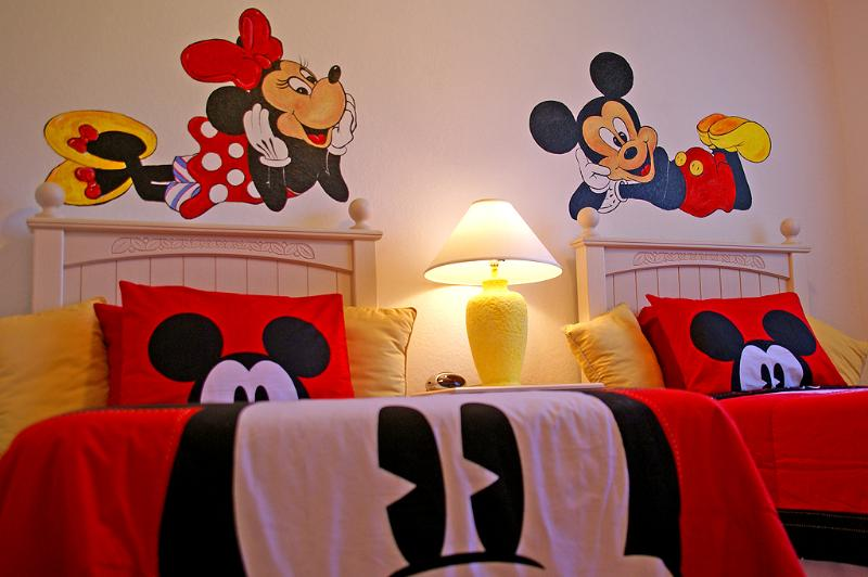 All ages will adore their amazing Disney theme room with unique hand painted characters