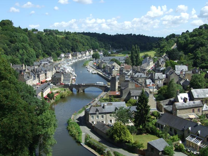 Port of Dinan, location of the apartment