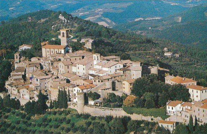 The town of Collazzone
