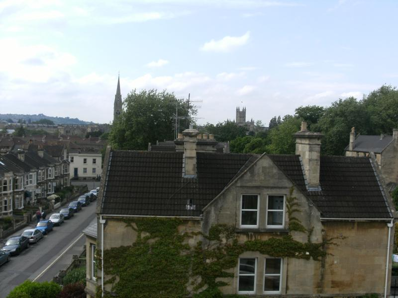 View of Bath and the Abbey from Studio 4. Far reaching views of Bath.