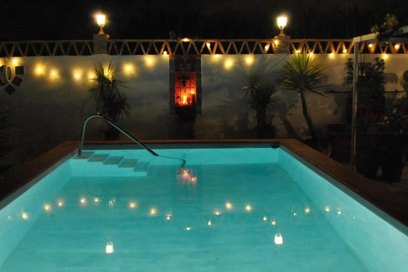Swimming pool - illuminated open for use day & night no restrictions. Private & not overlook