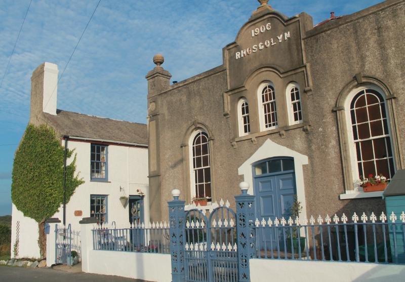 Ty Capel/Chapel House (next door to Rhoscolyn Capel - no longer a place of worship)