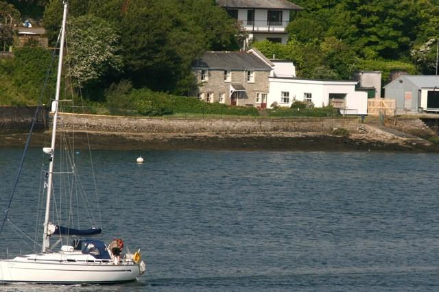 Cottage from Penryn river