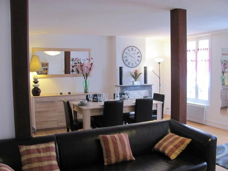 The living room, a nice place to stay