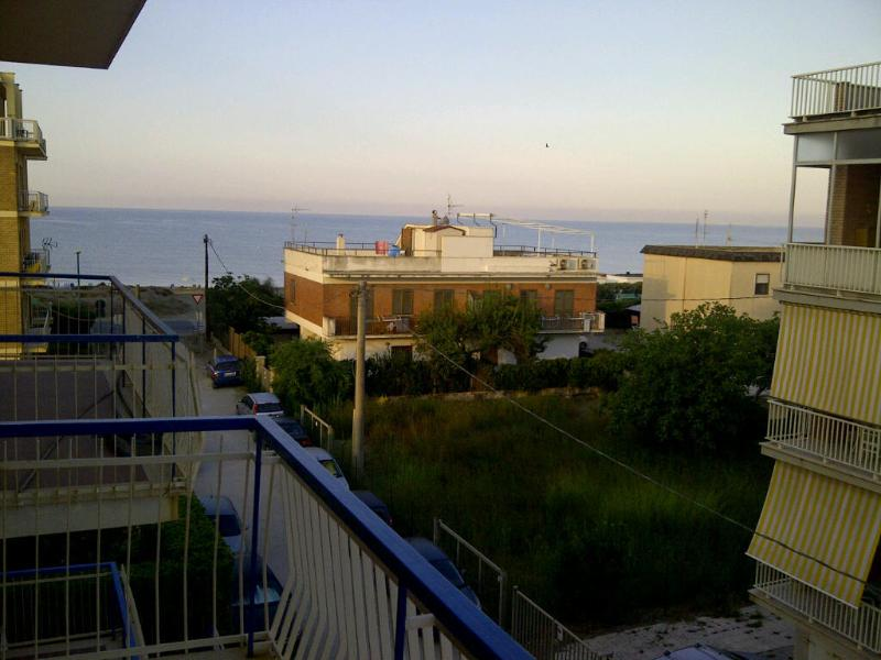 sea view from balcon