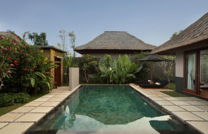Expansive Private Pool for a 1 Bedroom Villa.