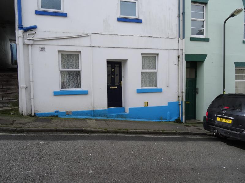 Front of property, 2 minutes from Torquay Town Centre.