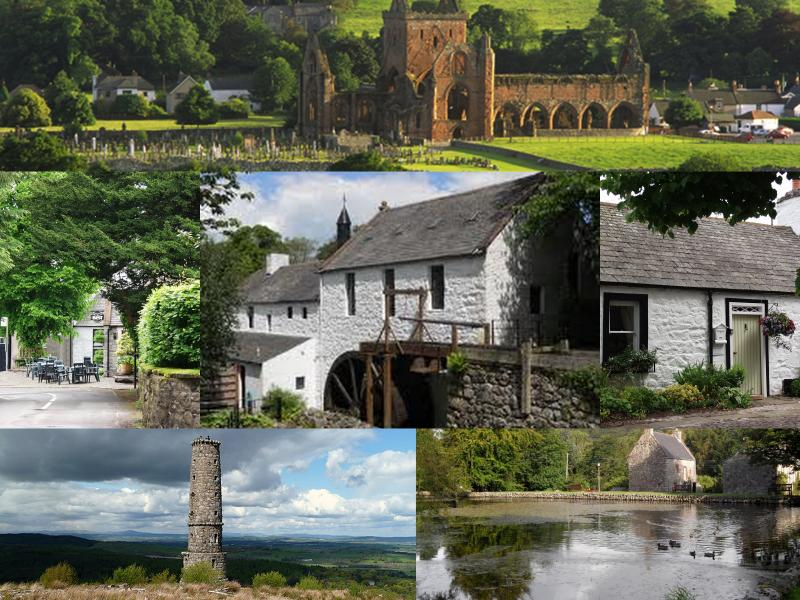 The Beautiful Conservation village of New Abbey, voted best small scottish village 2012.