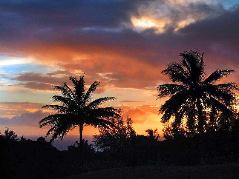 Amazing sunsets that astound and can be enjoyed from the deck every evening!