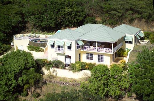 Alagana House at Falmouth, Antigua - Ocean View, Pool, Spacious Yet Intimate