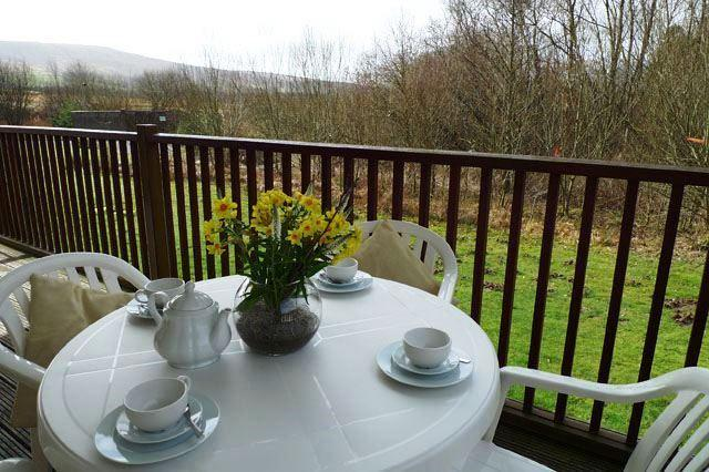 Each Lodge has their own veranda and outdoor garden areas