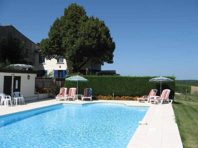 Relax and unwind around the 12 x 6m Swimming Pool and Terrace