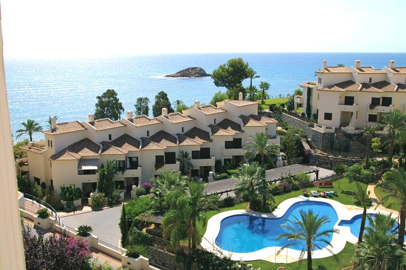 Beautiful Altea Bay & pool with separate children's area (not shown)