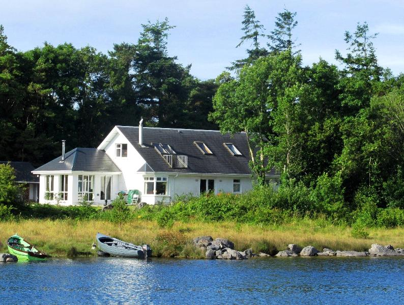Anam-Samh on the shores of lake Corrib, Co. Galway