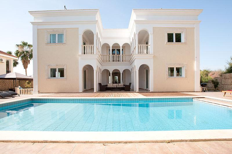 Rear of Villa and Large Private Pool