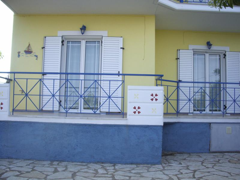 frontside of Athena apartment